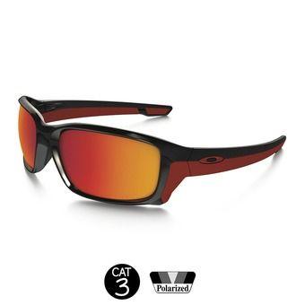 Gafas de sol polarizadas STRAIGHT LINK polished black/torch iridium