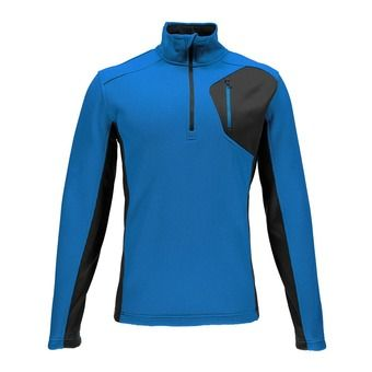 Maillot ML 1/2 zip homme BANDIT electric blue/polar