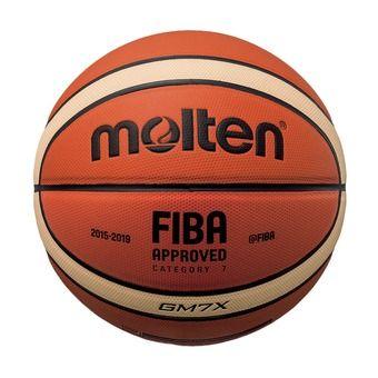Balón de baloncesto GMX naranja/marfil