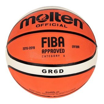 Ballon de basket GRD-OI orange/ivoire