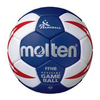Balón de balonmano HX5001 blanco/azul rey/dorado