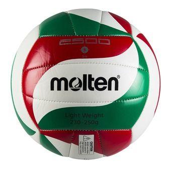 Ballon de volley V5M2501-L blanc/rouge/vert