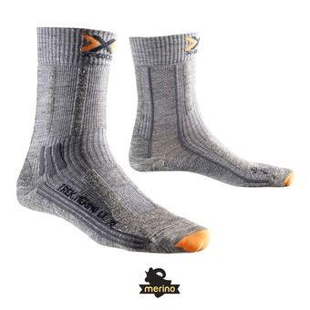 Chaussettes de randonnée femme TREK MERINO LIGHT grey