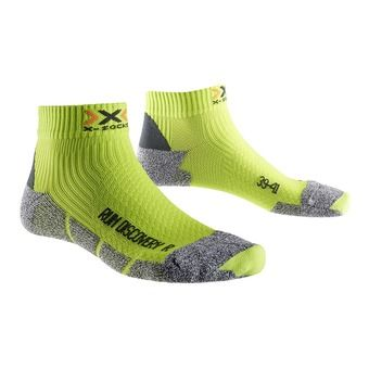Chaussettes de running DISCOVERY 2.1 green lime/ grey