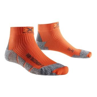 Chaussettes de running DISCOVERY 2.1 orange sunshine / black