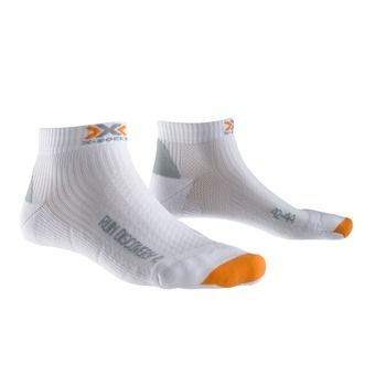 Chaussettes de running DISCOVERY 2.1 white