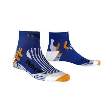 Calcetines de running SPEED METAL blue cobalt/white