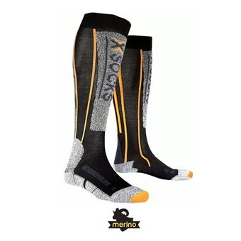 Calcetines de esquí hombre SKI ADRENALINE black/orange
