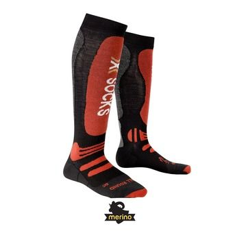 Calcetines de esquí hombre SKI ALLROUND black / red