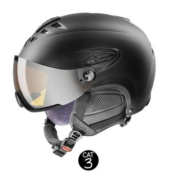 Casco de esquí HLMT 300 VISOR black mat