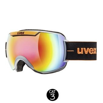 Masque de ski DOWNHILL 2000 FM coal orange mat/mirror rainbow rose