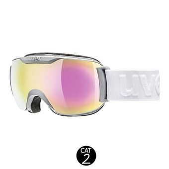 Masque de ski DOWNHILL 2000 S FM coal mat/mirror pink clear