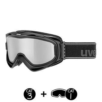 Masque de ski G.GL 300 TO black mat/mirror silver+écran supplémentaire