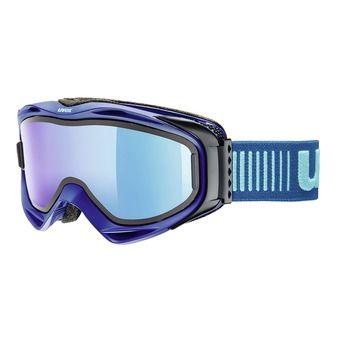 Masque de ski G.GL 300 TO navy mat/mirror blue clear