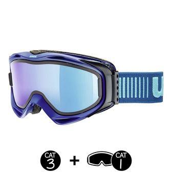 Masque de ski G.GL 300 TO navy mat/mirror blue+écran supplémentaire