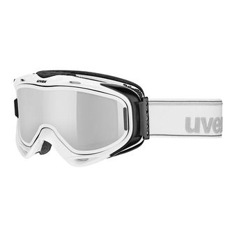 Masque de ski G.GL 300 TO white/mirror silver+écran supplémentaire