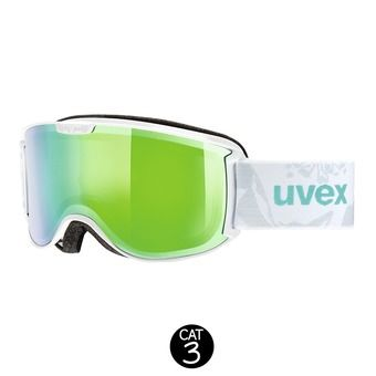 Gafas de esquí SKYPER FM white mint/mirror green clear