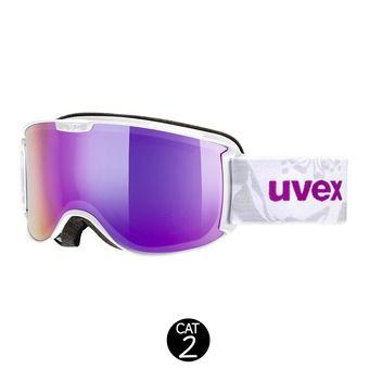 Masque de ski SKYPER FM white pink/mirror pink clear