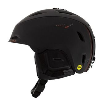 Casco RANGE MIPS matte black/bright red