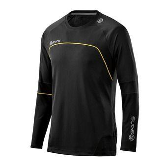 Camiseta hombre SKINS PLUS TERRA black/aluminium