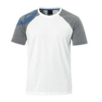 Camiseta hombre FLY HIGH T-SHIRT blanco/gris jaspeado