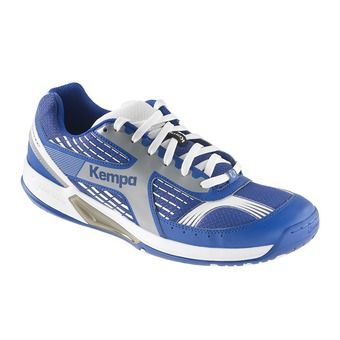 Chaussures handball homme FLY HIGH WING bleu roi/gris argent