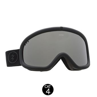 Masque de ski CHARGER matte black/brose silver chrome