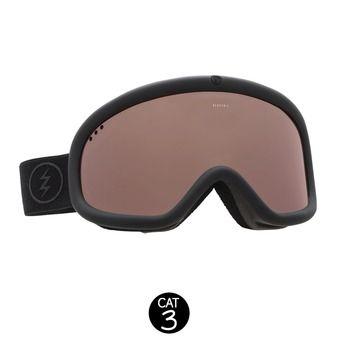 Gafas de esquí CHARGER matte black/brose