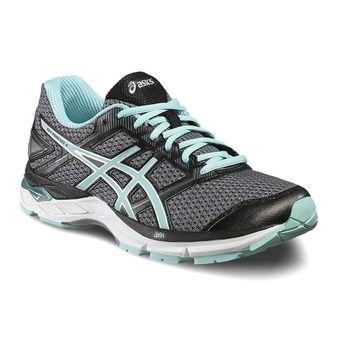Chaussures running femme GEL PHOENIX 8 carbon/aruba blue/black