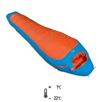Sac de couchage 1°C/-22°C COMPOSITE -5 bright orange