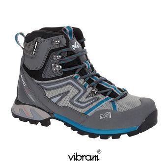 Chaussures randonnée femme HIGH ROUTE MESH aqua/dark grey