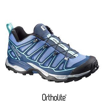 Zapatillas de senderismo mujer X ULTRA 2 petunia blue/midnight blue/wild violet