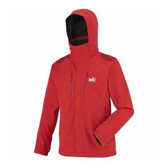 Veste à capuche homme JACKSON PEAK rouge