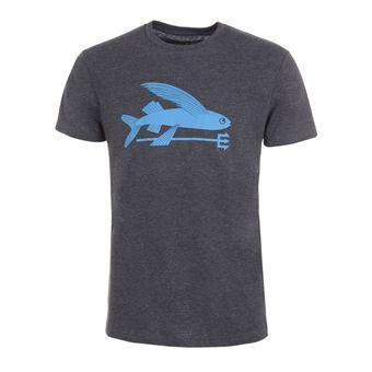 Camiseta hombre FLYING FISH  black w/radar blue