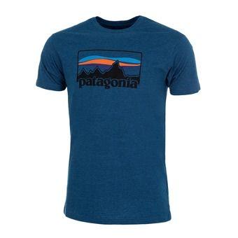 Camiseta hombre '73 LOGO COLLECTION big sur blue