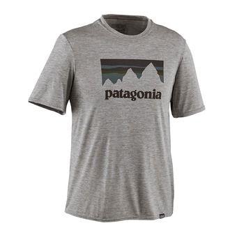 Camiseta hombre CAPILENE DAILY GRAPHIC feather grey heather