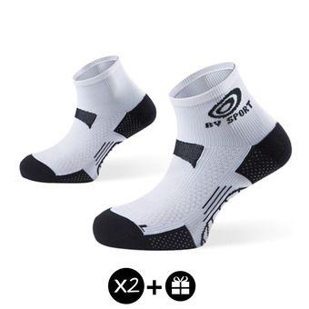 Lot de 3 paires de socquettes SCR ONE blanc