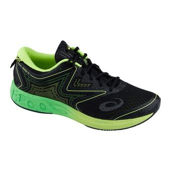 Zapatillas de running hombre NOOSA FF black/green gecko/safety yellow