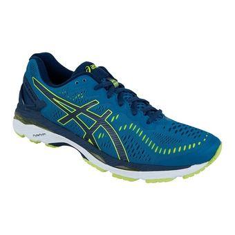 Chaussures running homme GEL-KAYANO 23 thunder blue/safety yellow/indigo blue