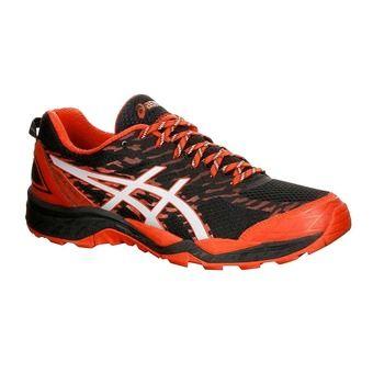 Chaussures de trail homme GEL-FUJITRABUCO 5 black/vermilion/silver