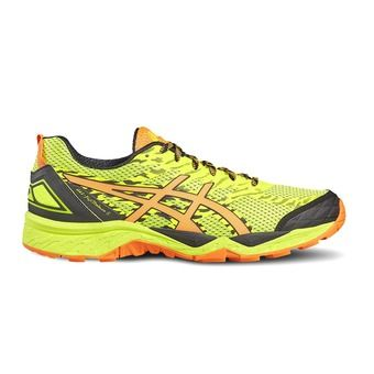 Zapatillas de trail hombre GEL-FUJITRABUCO 5 safety yellow/shocking orange/black