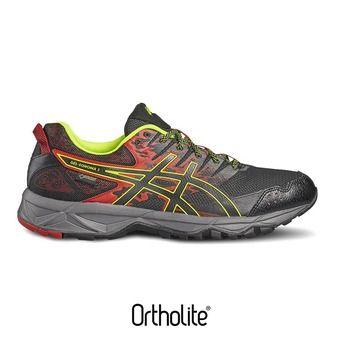Zapatillas trail hombre GEL-SONOMA 3 GTX vermilion/black/safety yellow