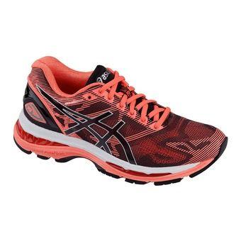 Chaussures running femme GEL-NIMBUS 19 black/silver/diva pink