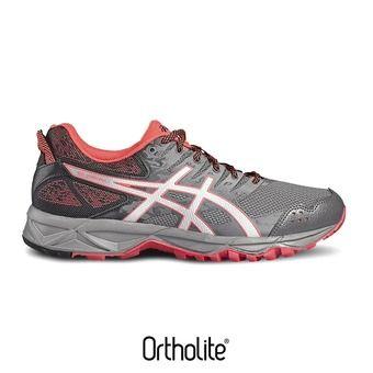 Zapatillas trail mujer GEL-SONOMA 3 carbon/silver/diva pink