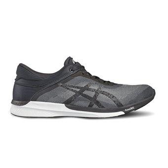 Chaussures running homme FUZEX RUSH midgrey/black/white