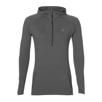 Sweat à capuche femme LS HOODIE dark grey heather