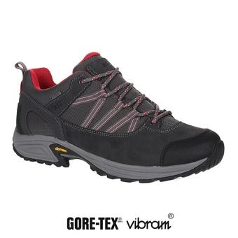 Zapatillas de senderismo hombre MOOVEN LOW GTX dark grey/red