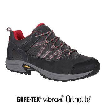 Zapatillas de senderismo hombre MOOVEN LOW GTX dark grey/red