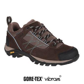 Chaussures de randonnée femme MOOVEN LOW GTX dark brown/agave
