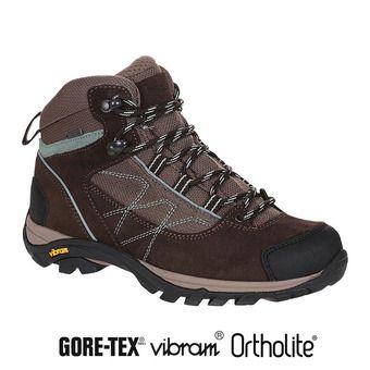 Chaussures de randonnée femme MOOVEN MID GTX dark brown/agave